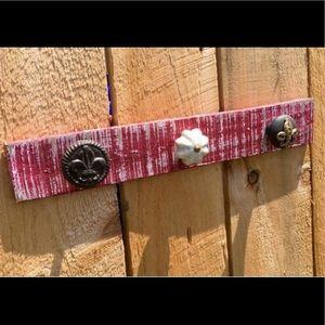 Jewelry - Handmade Knob Wood Jewelry Holder/Jewelry Hanger